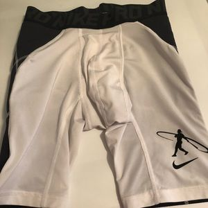 Nike pro compression baseball underwear
